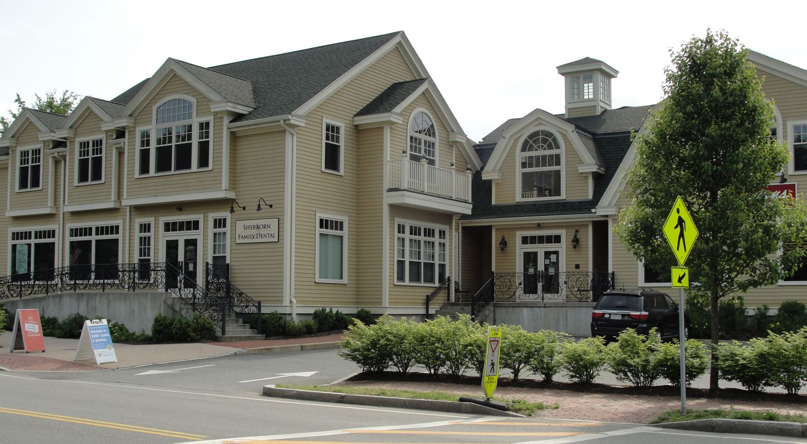 Sherborn Family Dental exterior